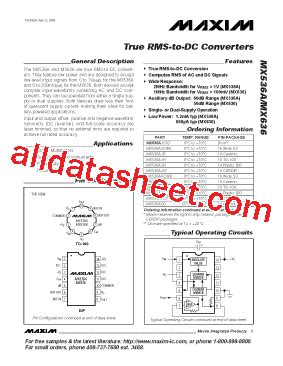 maxim integrated products reading mx536ajewe datasheet pdf maxim integrated products