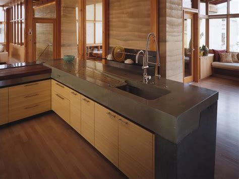 kitchen countertops and cabinet combinations concrete kitchen countertops kitchen remodeling hgtv