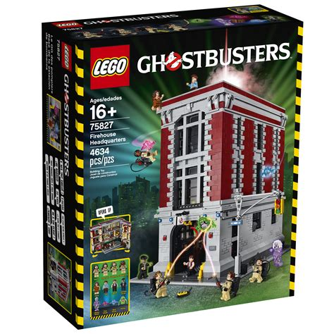 Lego Ghostbusters House by The Lego Ghostbusters Firehouse Hq S Interiors Are Frighteningly Beautiful