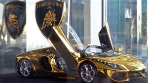 Snl Lamborghini Gold Plated Encrusted Lamborghini Up For Auction
