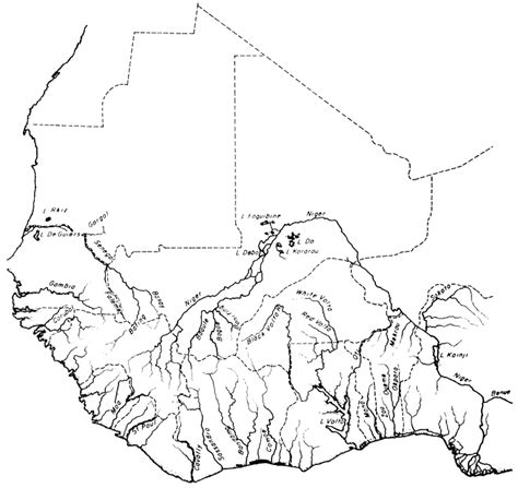 west africa map outline a blank map thread page 194 alternate history