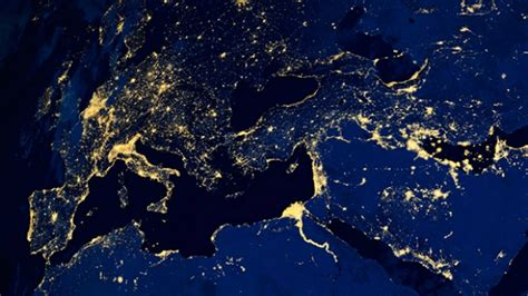 light pollution map earth another reason to flip the switch for earth hour