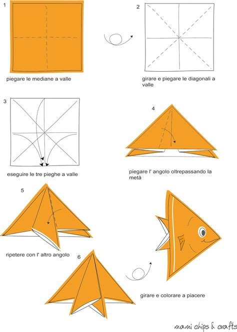mami chips crafts tutorial origami