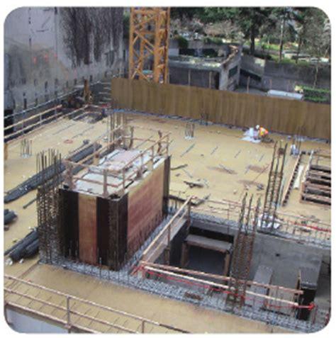 horizon house seattle elevator shaft forming
