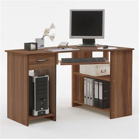 Corner Computer Desk For Home Felix Home Office Wooden Corner Computer Desk In Plumtree Desks Ranges And House