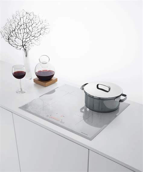 induction kitchen appliances italian appliance manufacturer barazza jumped on the white cooktop bandwagon with a 60cm