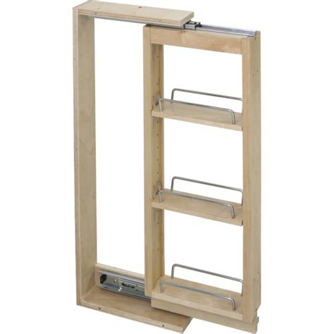 wall cabinet filler pullouts in 2 widths all cabinet parts