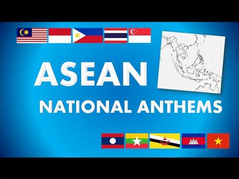 asean anthem let us move ahead the asean way the anthem of asean doovi