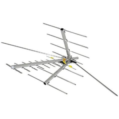 digital outdoor tv antenna hdtv vhf high band and uhf easy install home new ebay