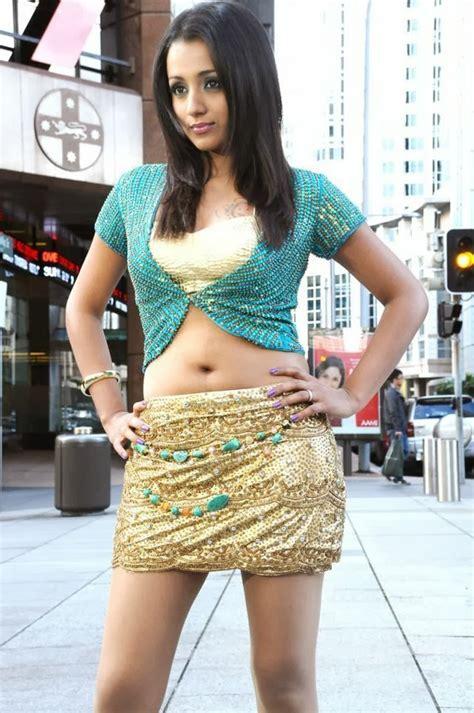 south actress thigh pics south indian actress trisha hot thighs show photos
