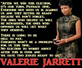 valerie jarrett is the other power in the west wing valerie jarrett gave benghazi stand down order