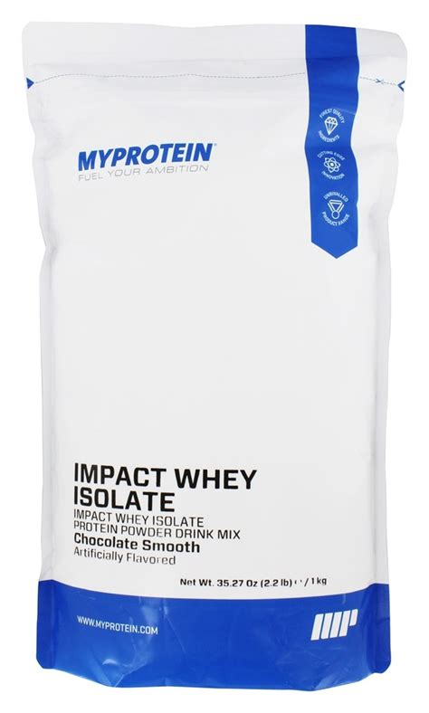 Myprotein Impact Whey My Protein Isolate 2 Lbs Ori Uk Ecer Shaker comprar myprotein impacto do whey isolado chocolate liso 2 2 lbs no luckyvitamin