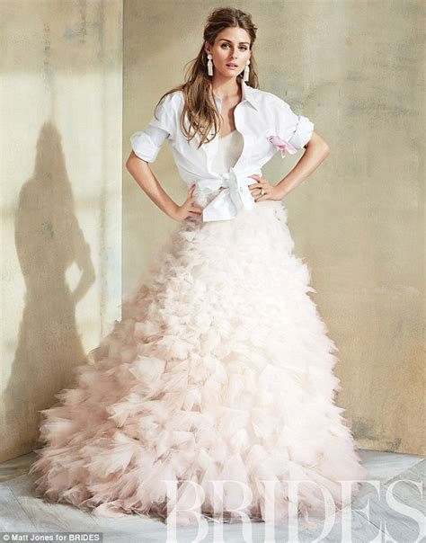 hochzeitskleid olivia palermo olivia palermo dons wedding dress on brides magazine cover