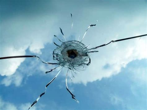 how to repair glass cracks number of cracks in glass can reveal a bullet s velocity