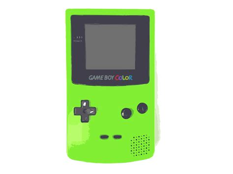 clipart green nintendo boy color