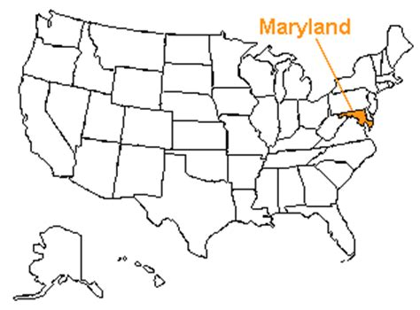 map us maryland the us50 a guide to the state of maryland geography