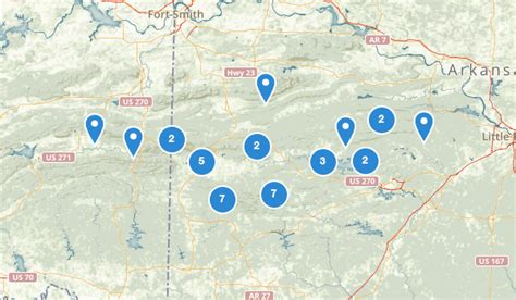 ouachita national forest map best trails in ouachita national forest alltrails