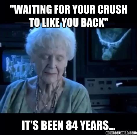 Like You Meme - quot waiting for your crush to like you back quot