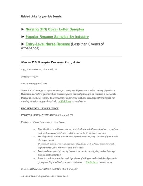 resume template nursing musiccityspiritsandcocktail com