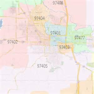 maps eugene oregon eugene oregon zip codes map