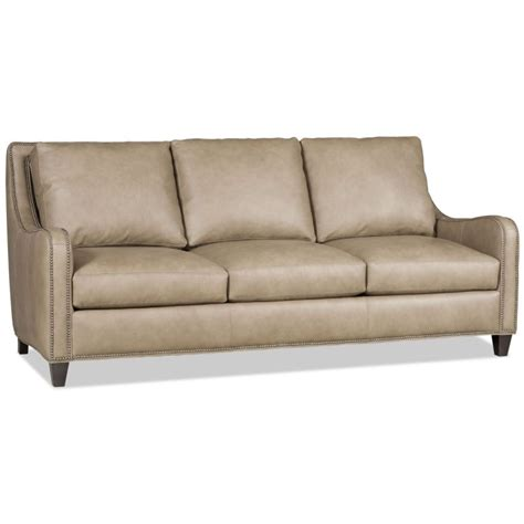 bradington sofa bradington young greco leather stationary sofa 613 95