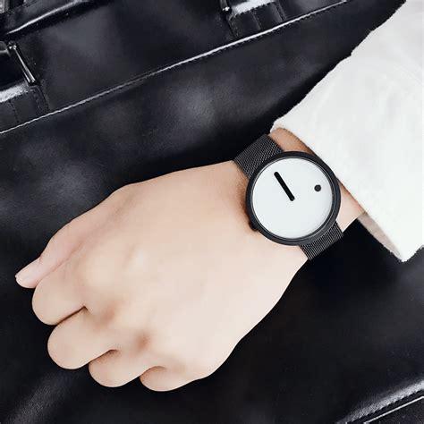 Jam Tangan Pria Ripcurl Ab1850 Black White enmex jam tangan analog fashion pria e2311 black white jakartanotebook