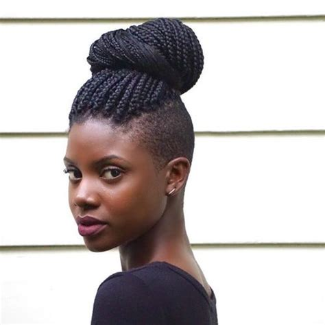 the cutlife shaved and braided on african american hair 34 best braid hairstyles images on pinterest black women