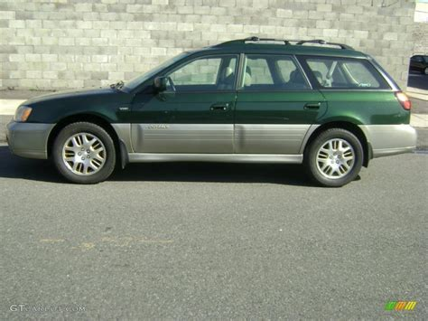 outback subaru green 2001 timberline green metallic subaru outback vdc wagon