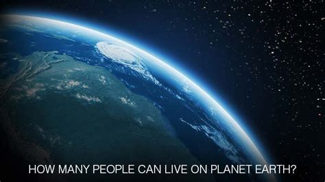 how many people can live in a two bedroom house how many people can live on planet earth watch