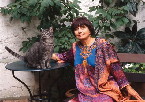 agnes varda from here to there portraits of famous artists and the cats that kept them