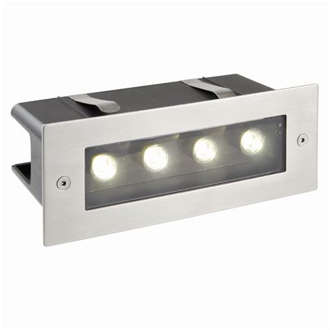 Modern Garden Flush Spot Wall Steel Brick Light Outdoor Brick Lights Outdoor Lighting