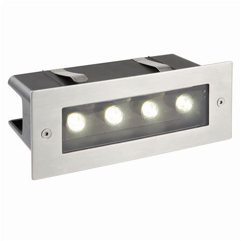 Brick Lights Outdoor Lighting Modern Garden Flush Spot Wall Steel Brick Light Outdoor Ip44 Energy Saving Led Ebay