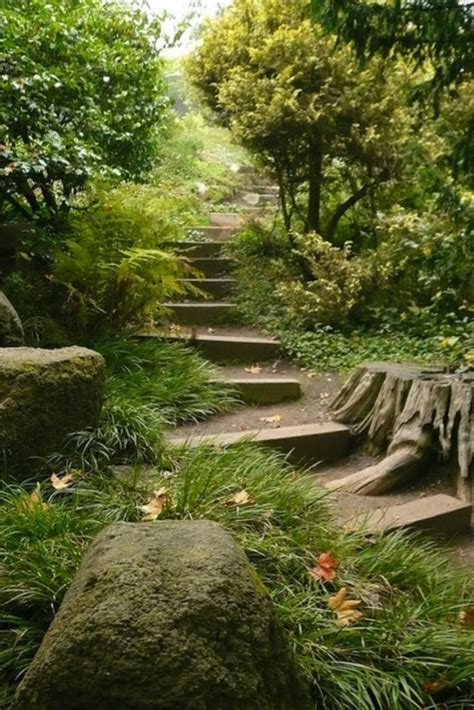 cool garden ideas 40 cool garden stair ideas for inspiration bored