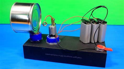 Alarm Motor Type R how to make loud and powerful alarm using dc motor dc motor hacks phim22