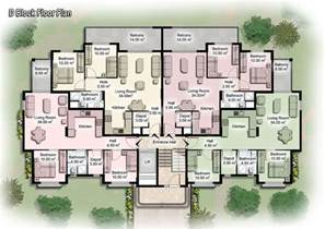 House Plans With In Apartment by Modern Apartment Building Plans D S Furniture