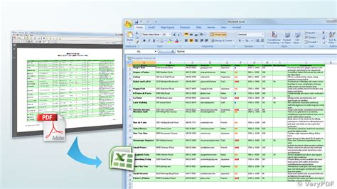 Converting Pdf To Excel Spreadsheet by How To Convert Scanned Pdf To Excel Spreadsheets How Can I Import Ocr Scans Into An Excel