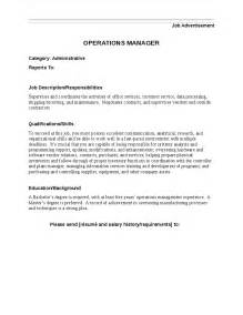 Receiving Supervisor Description by Operations Manager Description Hashdoc