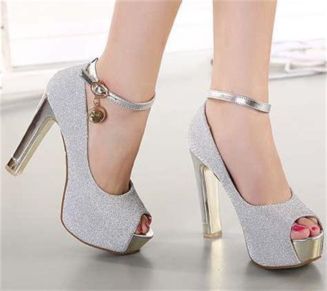 Sendal Tinggi Pink model sendal sepatu high heel wanita terbaru busanatrendi