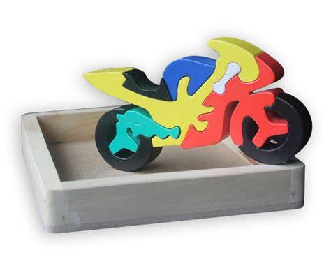 Limited Stock Mainan Edukatif Edukasi Anak Puzzle Stiker Kayu Knop puzzle kayu 3 dimensi motor mainan eduka pusat mainan mendidik dan aman mainan eduka pusat