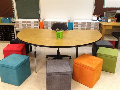 Colorful Storage Ottomans I The Idea Of Using Colorful Storage Ottomans For Student Seating Classroom