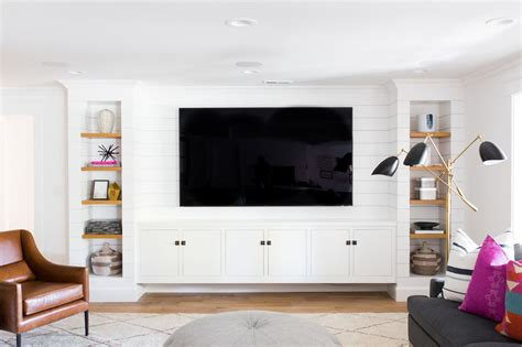 Tv In The Middle Of The Living Room yes or no accent walls studio mcgee