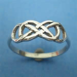 Infinity Times Infinity Bracelet Celtic Knot Infinity X Infinity Ring Silver