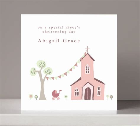 christening cards to make personalised christening card for or boy by molly moo