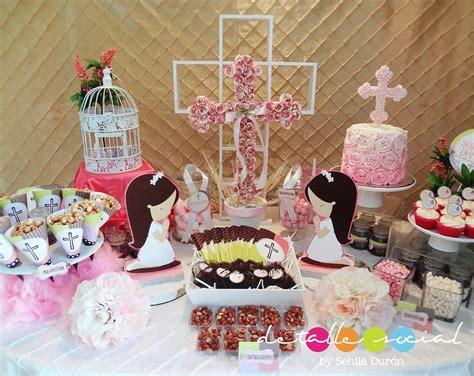 decoracion de mesas de comunion mesa decorada para comuni 243 n comuni 243 n y confirmaci 243 n