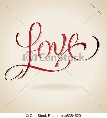 imagenes letras love vector clip art de love letras vector mano love