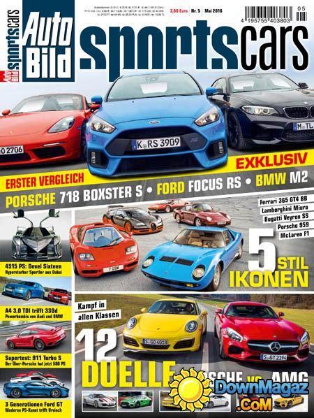 Auto Bild Sportscars 4 2017 by Auto Bild Sportscars 05 2016 187 Pdf Magazines