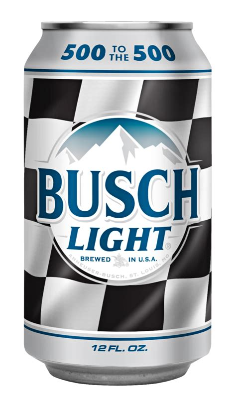 busch light cans busch is taking 500 to this year s daytona 500