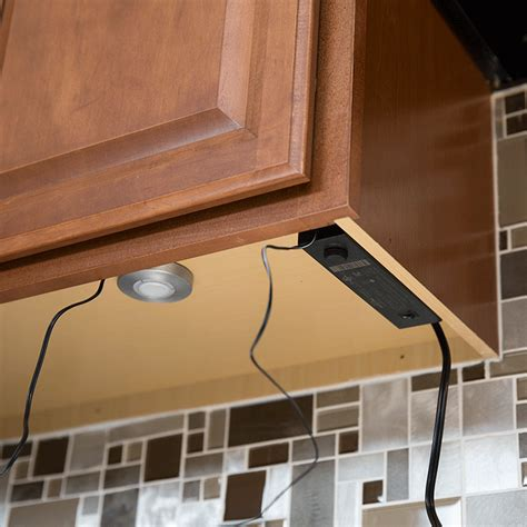 how to install hardwired cabinet lighting kitchen