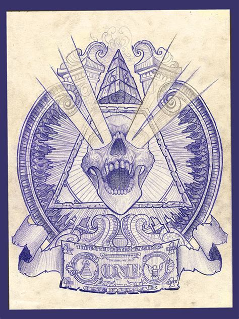 illuminati demon head by wolffoss on deviantart