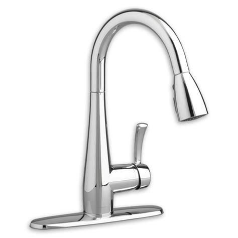 kitchen faucet flow rate american standard 4433 300 f15 quince 1 handle pull down high arc kitchen faucet 1 5 gpm 5 7 l